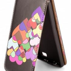 Husa piele Huawei P8lite Flip Hearts - Husa Tableta