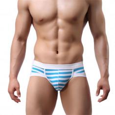 Chiloti barbati Underwear Barbati Male Lenjerie cu push up briefs casual, Marime: M, L, Culoare: Bleu, Negru, Verde