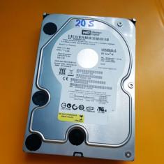 20S.HDD hard Disk Desktop, 500GB, Western Digital, Sata II, 8MB, 500-999 GB, Rotatii: 7200, SATA2