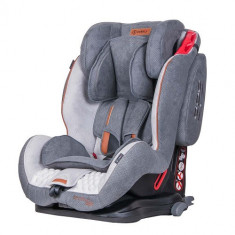 Scaun Auto Sportivo cu Isofix 9-36 kg Grey - Scaun auto copii grupa 1-2-3 (9-36 kg) Coletto, 1-2-3 (9-36 kg), Gri, In sensul directiei de mers