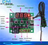 Termostat digital universal -50 - 110℃  W1209 cu releu 20A + sonda  waterproof