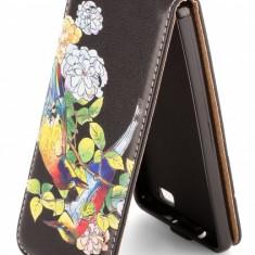 Husa piele Huawei P8lite (2015) Flip Art - Husa Tableta