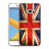 Husa HTC 10 Silicon Gel Tpu Model UK Flag - Husa Telefon