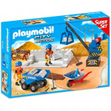 Super set Santierul de constructie Playmobil
