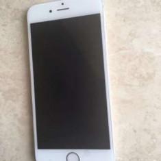 iPhone 6 Apple 16gb silver stare buna, neverlokED, incarcator, cablu date!!PRET:1280leI, Argintiu, Neblocat