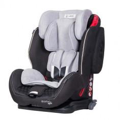 Scaun Auto Sportivo cu Isofix 9-36 kg Black - Scaun auto copii grupa 1-2-3 (9-36 kg) Coletto, 1-2-3 (9-36 kg), Negru