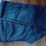 Jeans H&M, L - NOU! - Blugi dama, Marime: L, Culoare: Bleumarin