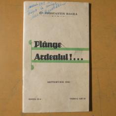 Plange Ardealul C. Hagea Arad 1940 Cluj Maniu Antonescu Romania Basarabia - Carte veche