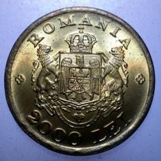 2.105 ROMANIA MIHAI I 2000 LEI 1946 XF/AUNC - Moneda Romania, Alama