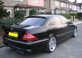 Eleron portbagaj Mercedes Benz S Class W220 AMG S-Classe S500 S600 S55 S65
