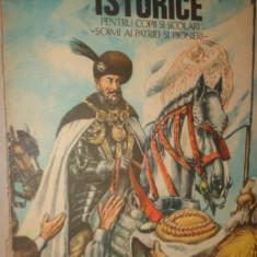 Povestiri istorice partea a 2-a /an 1987/ilustratii/102pag- Dumitru Almas - Carte educativa