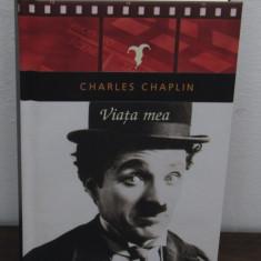 VIATA MEA -CHARLIE CHAPLIN (CARTONATA) - Carte Cinematografie