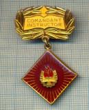 ZET 426 MEDALIE PIONIERI - COMANDANT INSTRUCTOR