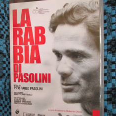 LA RABIA DI PASOLINI (1 DVD ORIGINAL, SUBTITRARE ITALIANA- ENGLEZA + CARTICICA!) - Film Colectie