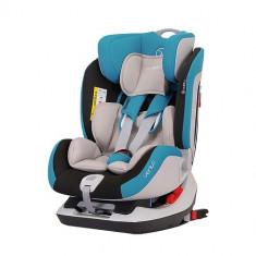 Scaun Auto Vento cu Isofix 0-25 kg Turcoaz - Scaun auto copii grupa 0-1-2 (0-25kg) Coletto, 0-1-2 (0-25 kg), Albastru