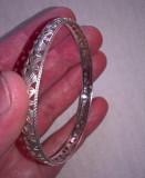 Bratara argint 750