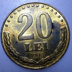 2.117 ROMANIA 20 LEI 1993 - Moneda Romania