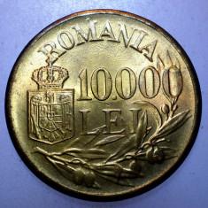 2.115 ROMANIA MIHAI I 10000 LEI 1947 XF punct sters 10.000 - Moneda Romania, Alama