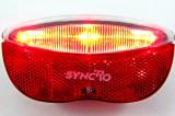 STOP de bicicleta pt portbagaj - cu 3 LED-uri si catadioptru - Nou, Faruri si semnalizatoare