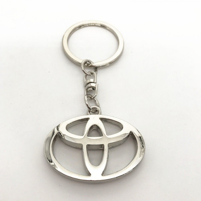 Breloc nou auto pentru TOYOTA metal  + ambalaj cadou