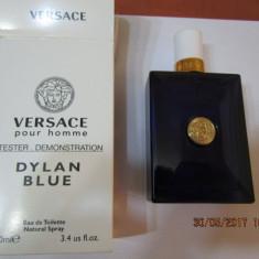 PARFUM TESTER VERSACE DYLAN BLUE --100 ML -SUPER PRET, SUPER CALITATE! - Parfum barbati Versace, Apa de toaleta