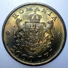 2.106 ROMANIA MIHAI I 2000 LEI 1946 XF/AUNC - Moneda Romania, Alama