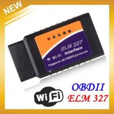 Tester Diagnoza Auto Wireless OBD2 WIFI Interfata ELM327 OBD II