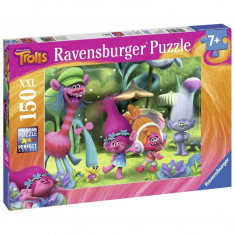 Puzzle Lumea Trolls, 150 piese Ravensburger