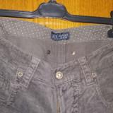 Armani Jeans 27, Dama - Blugi dama Armani Jeans, Marime: S, Culoare: Gri