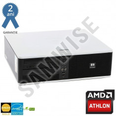 Calculator AMD Athlon 64 1640B 2.7GHz 2GB DDR2 80GB ATI Radeon 3100 DVD-ROM - Sisteme desktop fara monitor HP, 2501-3000Mhz, 40-99 GB, AM2