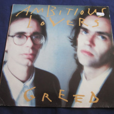 Ambitious Lovers - Greed _ vinyl, LP, album _ Virgin(EU) _ art rock, electronic - Muzica Rock virgin records, VINIL