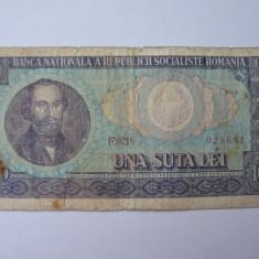 Romania (7) - 100 Lei 1966