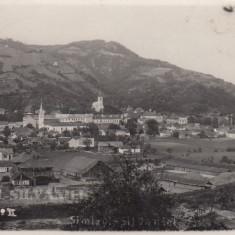 SIMLEUL SILVANIEI VEDERE GENERALA CIRCULATA 1939 - Carte Postala Transilvania dupa 1918, Fotografie, Brasov