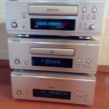 Linie mini Denon F88, culoare sampanie, deck autorevers, tuner RDS/timer, CD player - Combina audio