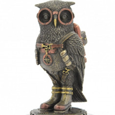 Statueta rasina si bronz 'Mica bufnita'