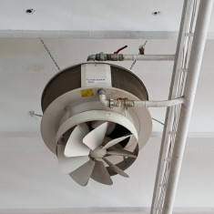 Centrala Ferroli + ventiloconvectoare Sabiana climatizare hale