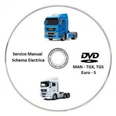 MAN TGX-TGS Euro 5 - Service Manual + Schema Electrica - Manual auto