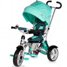 Tricicleta Multifunctionala Giro Verde - Tricicleta copii Coccolle