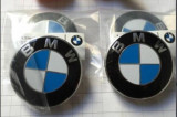 Emblema / Logo / Insigna BMW Pentru Roti / Jante - 68mm - 4 Bucati
