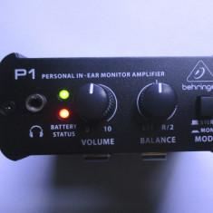 Mixer mic BEHRINGER P1 - Amplificator Casti etc portabil e ca nou, nefolosit - Mixere DJ