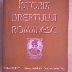 Mihai Ruja, s.a. - Istoria dreptului romanesc {2007}