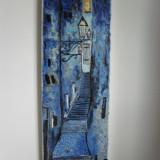 Scari -pictura ulei pe panza;MacedonLuiza - Pictor roman, Peisaje, Altul