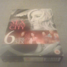Sex and the city - Season 6 - 20 ep - DVD [B] - Film serial, Drama, Engleza