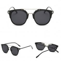 Ochelari De Soare Fashion Unisex Design Foarte Frumos - UV400 - Negru