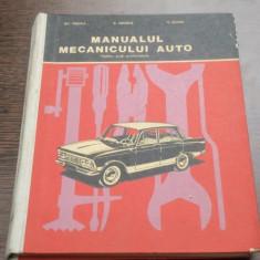 MANUALUL MECANICULUI AUTO - GH. FRATILA - Carti auto