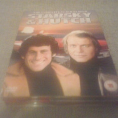 Starsky and hutch complete third season - 23 ep - DVD [B, cad] - Film serial, Politist, Engleza