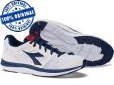 Pantofi sport Diadora Heron pentru barbati - adidasi originali - alergare, 44, 46, Alb, Textil