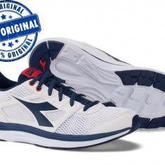 Pantofi sport Diadora Heron pentru barbati - adidasi originali - alergare - Adidasi barbati Diadora, Marime: 39, 41, 42, 43, 44, 46, Culoare: Alb, Textil