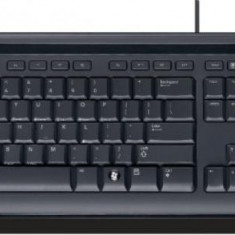 Tastatura Microsoft Wired Keyboard 400 (USB) Black, Standard, Cu fir