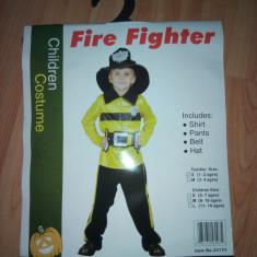 Costum Pompier 7-14 ani